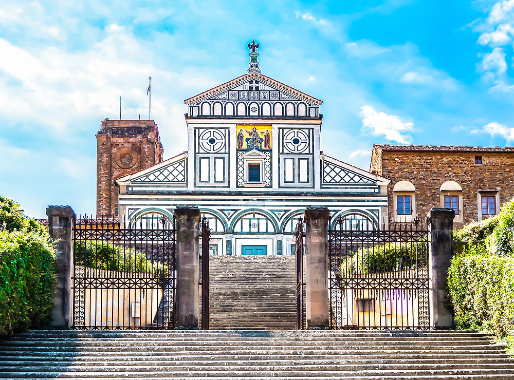 Florence's crowning glory, the Basilica of San Miniato al Monte