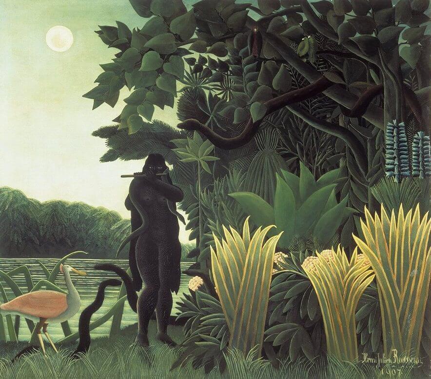 Henri Rousseau, The Snake Charmer, 1907