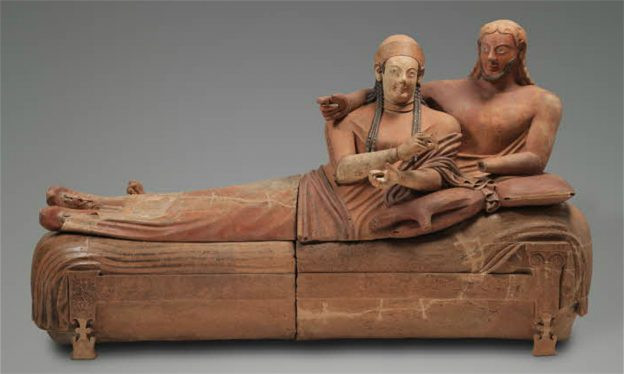 Sarcophagus of the Spouses, 9th to 1st centuries B.C.