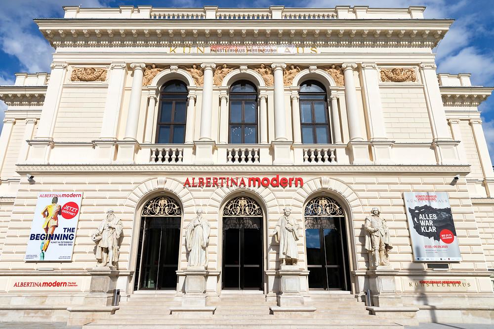 the Albertina Modern, a satellite of the Albertina and Vienna's new modern art museum