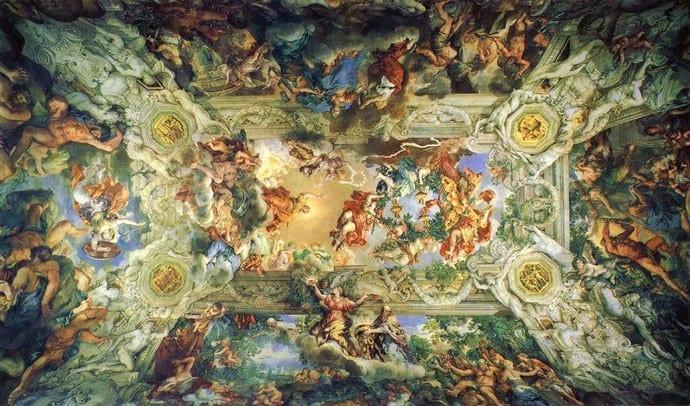 Pietro da Cortona, The Triumph of Divine Providence, 1632-39