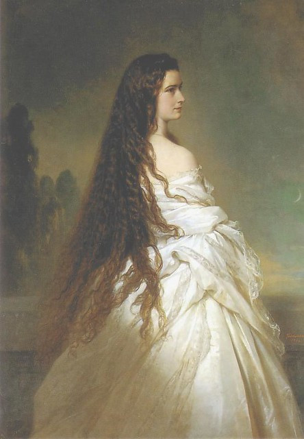 Franz Xaver Winterhalter (German, 1805-1873). Empress Elisabeth of Austria, 1865.