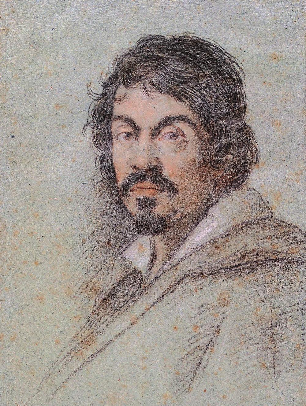 Ottavio Leoni, Portrait of Caravaggio, 1620