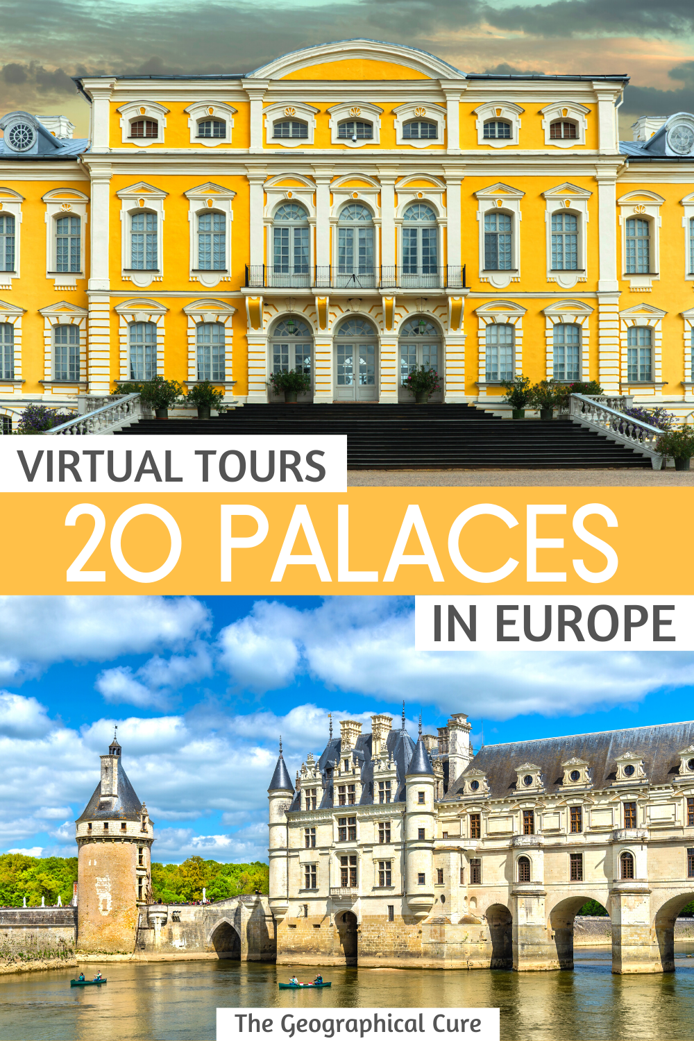 20 Virtual Tours of Europe's Most Beautiful Palaces