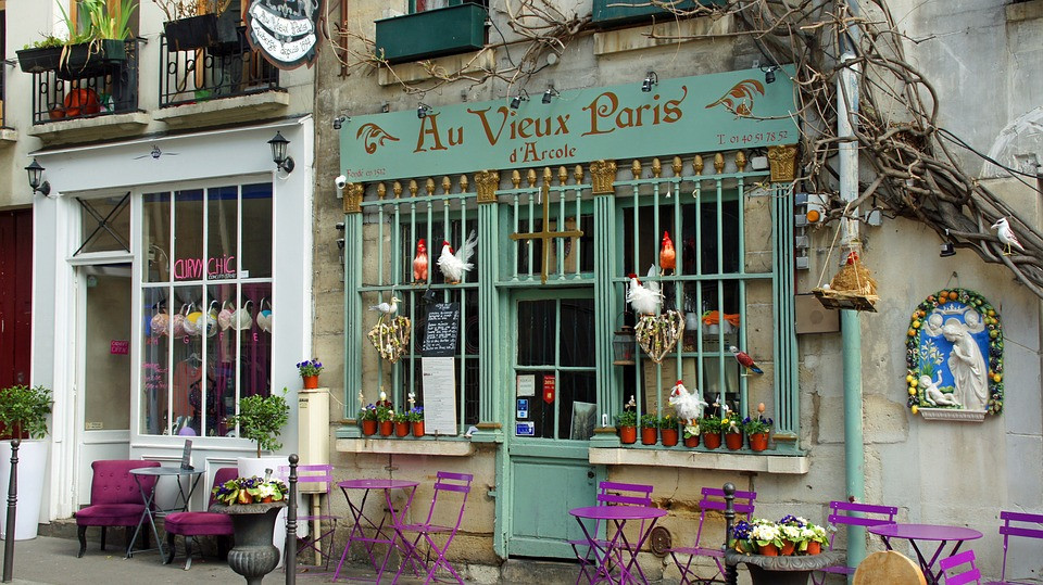 Au Vieux Paris d'Arcole near Notre Dame