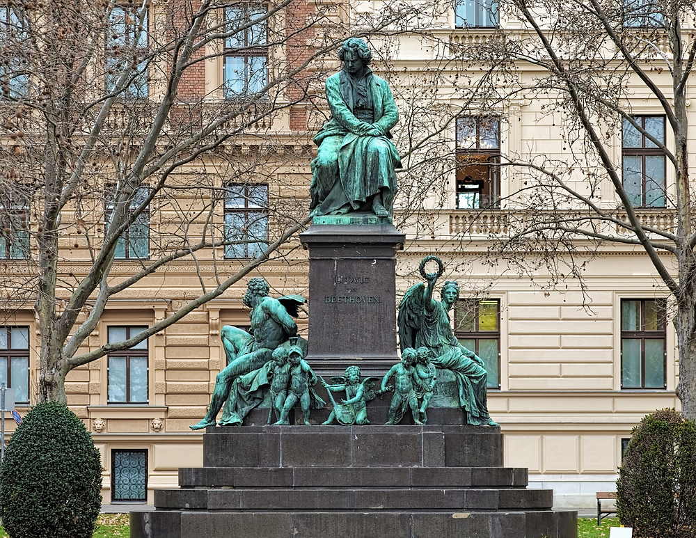Beethoven Monument in Vienna