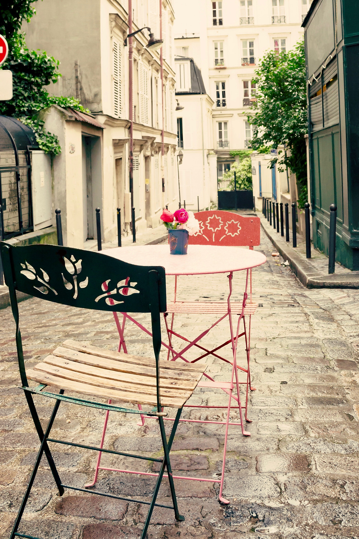 cute little street on the Left Bank of Paris