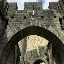 medieval detail in Carcassonne France