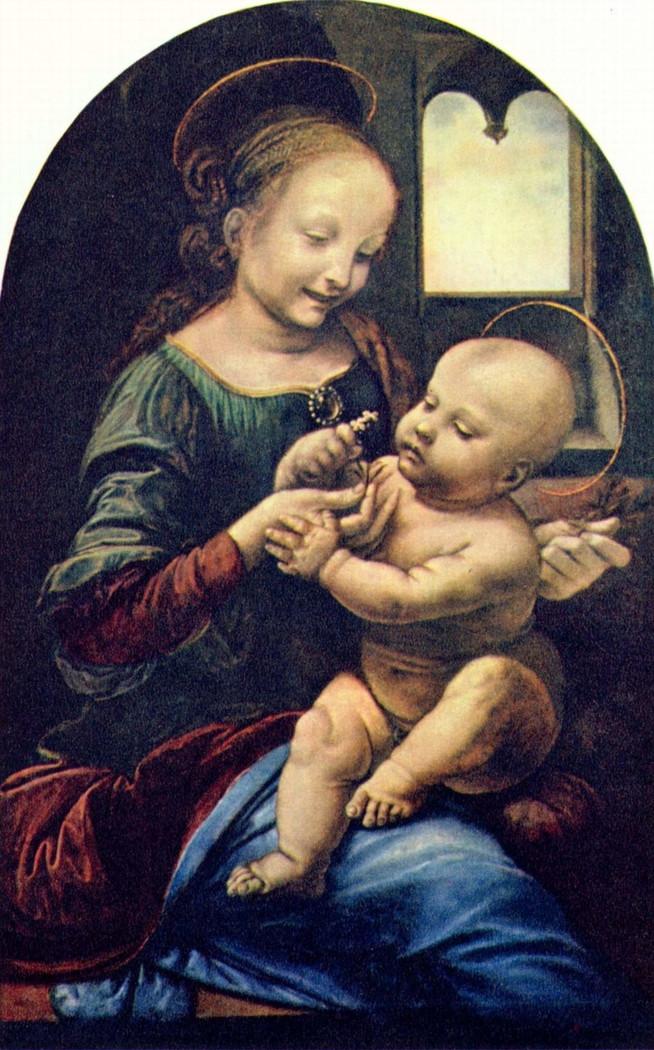 Leonardo da Vinci, Benois Madonna, 1478