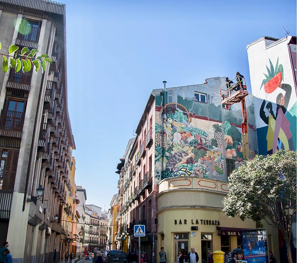 murals in Puerta Cerrada