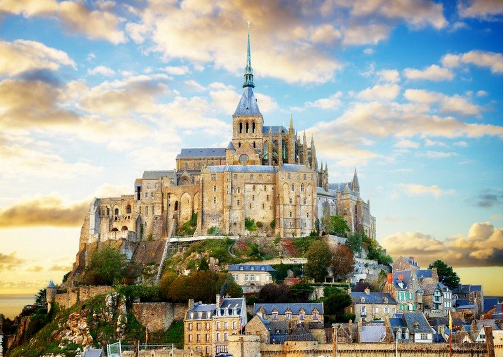 the beautiful Mont Saint-Michel, a must visit destination in Normandy