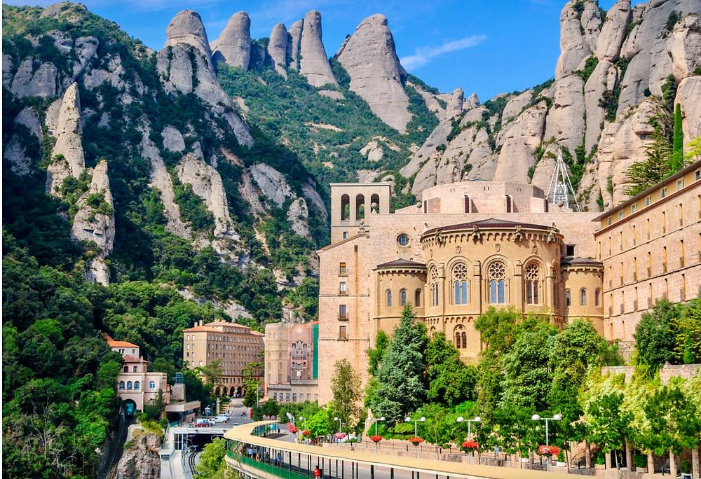 Benedictine Abbey in Montserrat