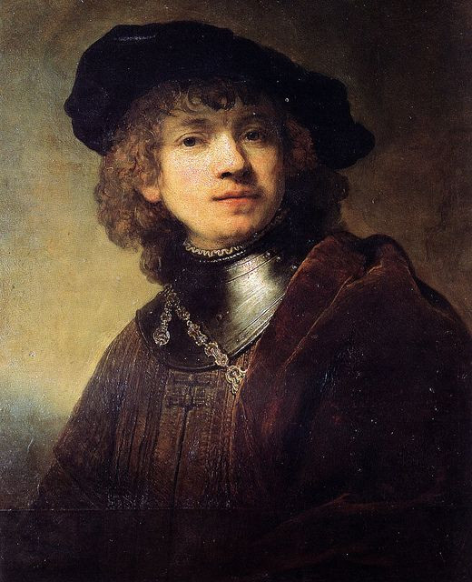 Rembrandt, Self Portrait, 1669