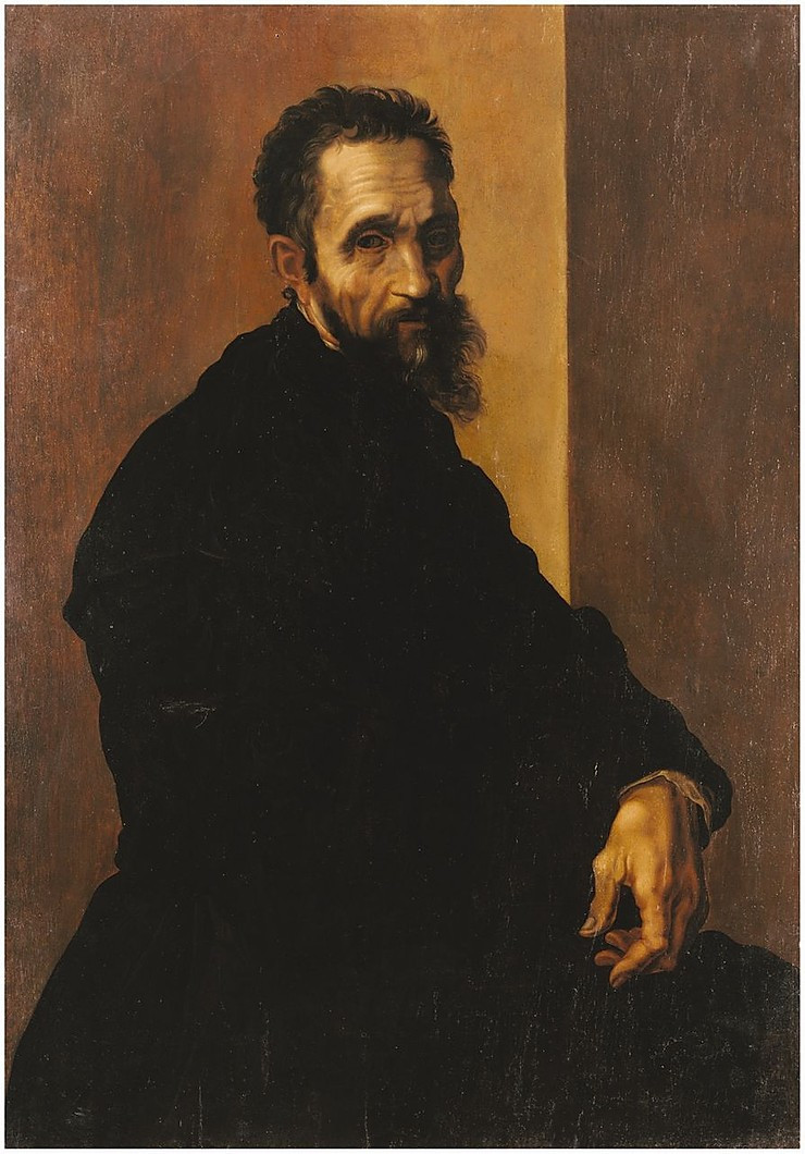 Jacopino del Conte, Portrait of Michelangelo, 1535