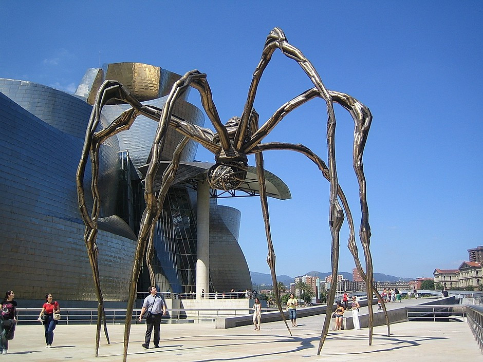Louise Bourgeois, Maman, 1999 at the Guggenheim Bilbao