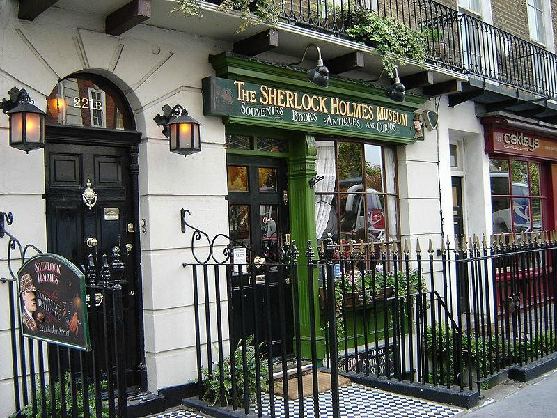 the Sherlock Holmes Museum, not a real museum at all