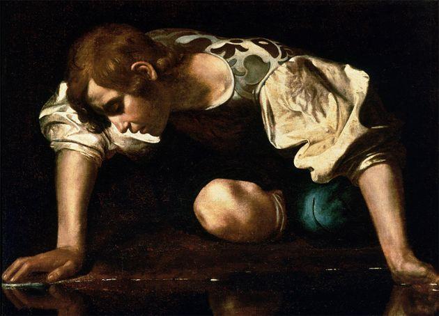 Caravaggio, Narcissus, 1957-59