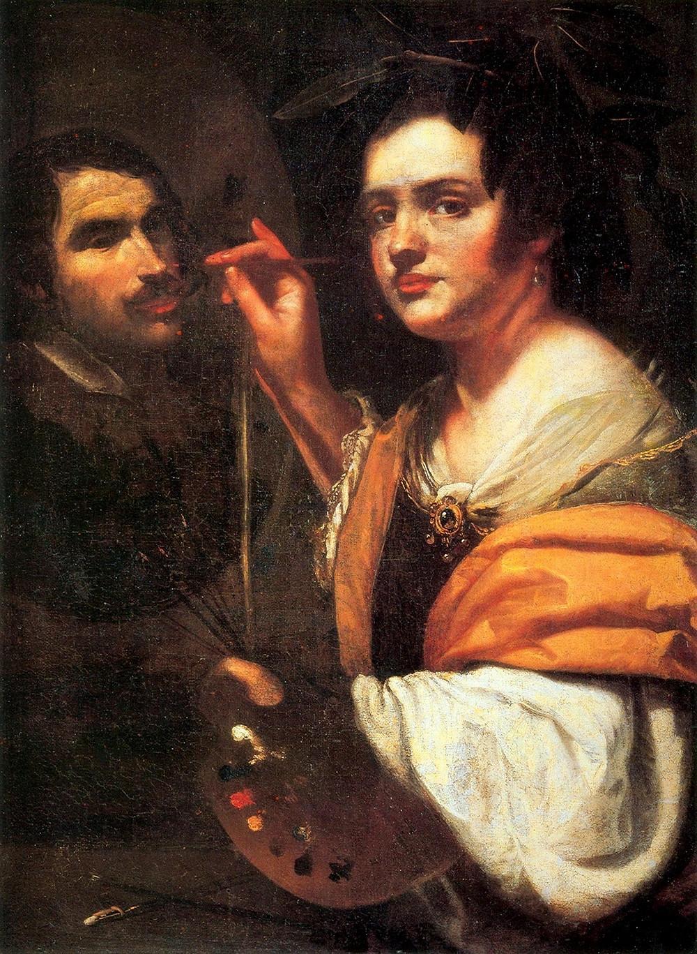 Artemisia Gentileschi, Self Portrait, 1630s