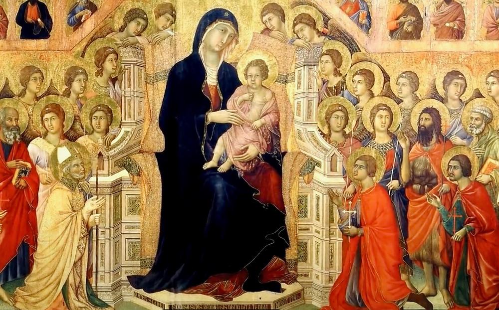Duccio di Buoninsegna, Maesta, 1311