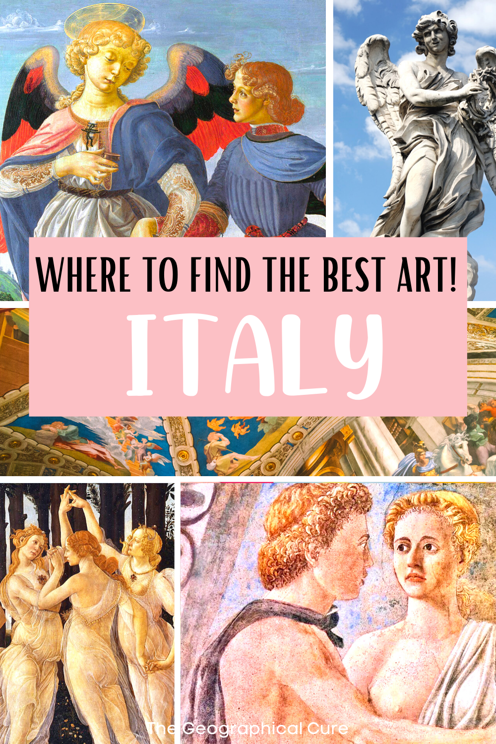 Italy art check list, where to find the best art