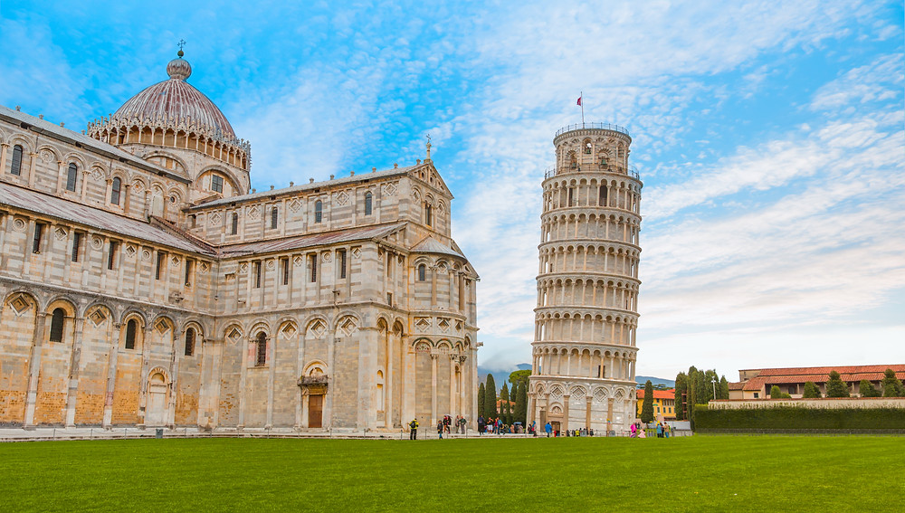the Duomo and Leaning Tower on the Field of Miracles
