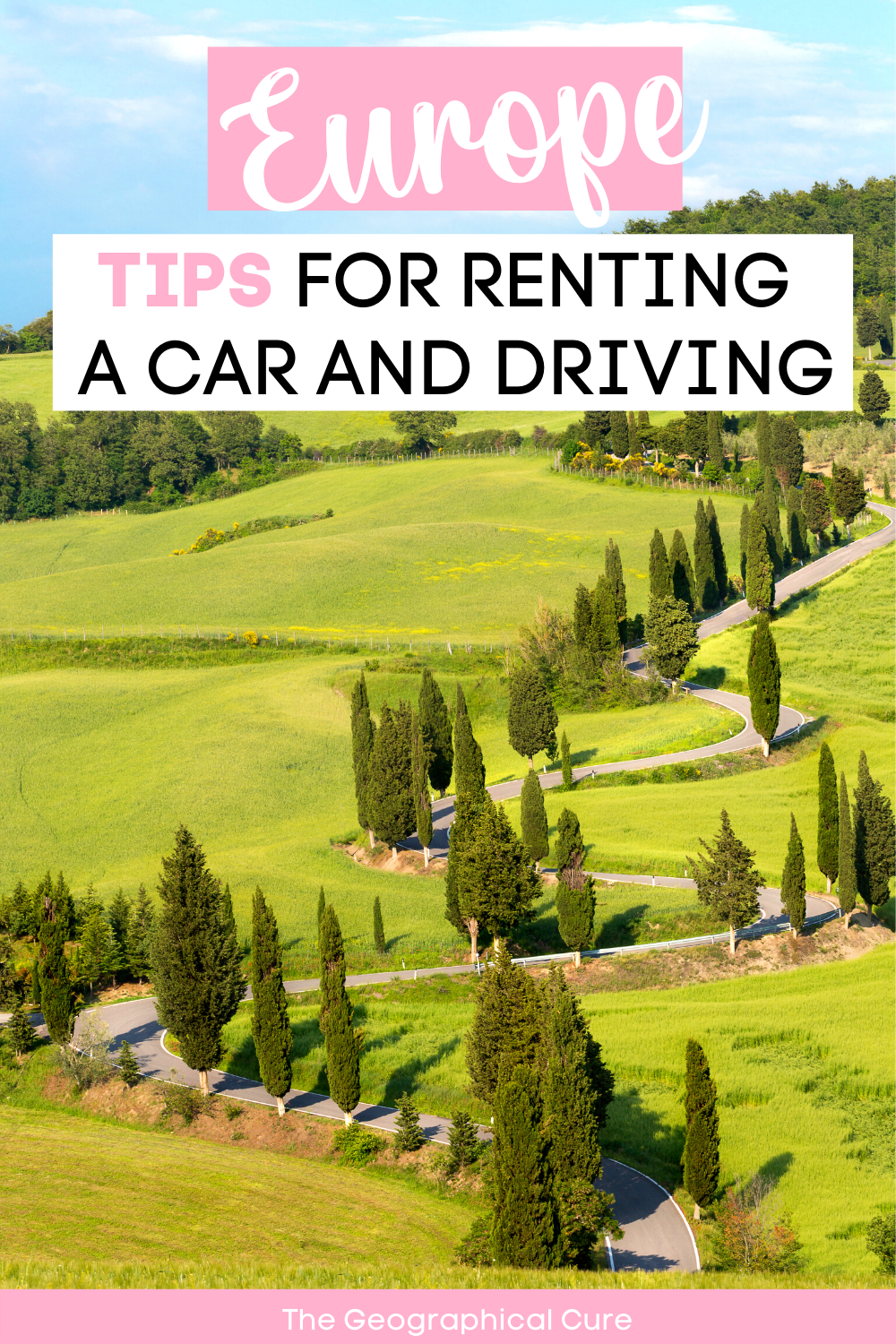 must know tips for road tripping in Europe