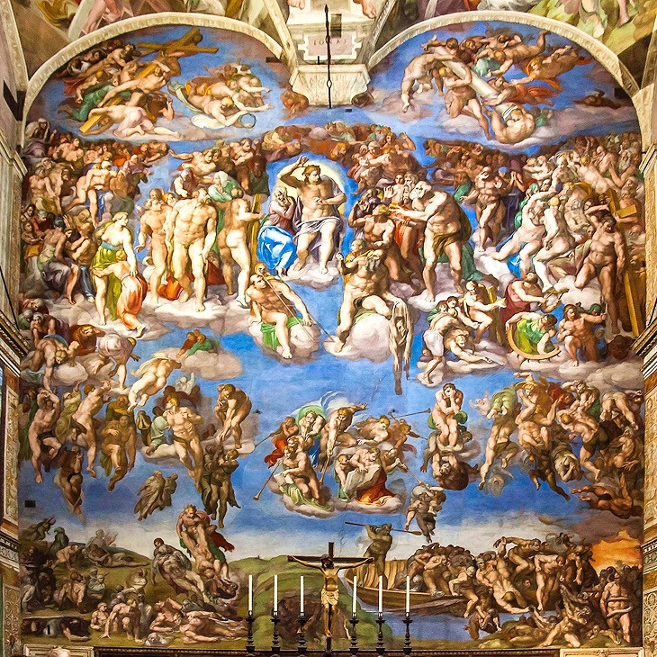 Michelangelo's The Last Judgment