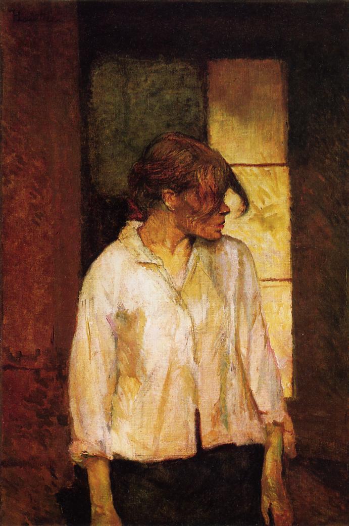 Henri Toulouse-Lautrec, A Montrouge Rosa la Rouge