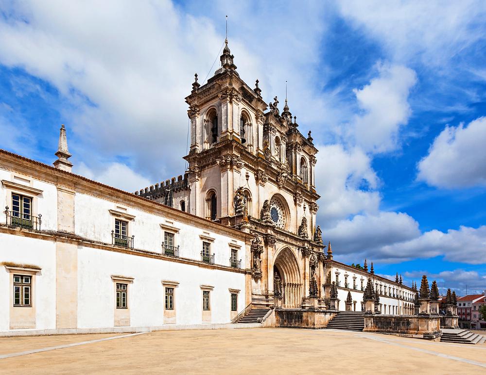 facade of Alcobaca Monastery