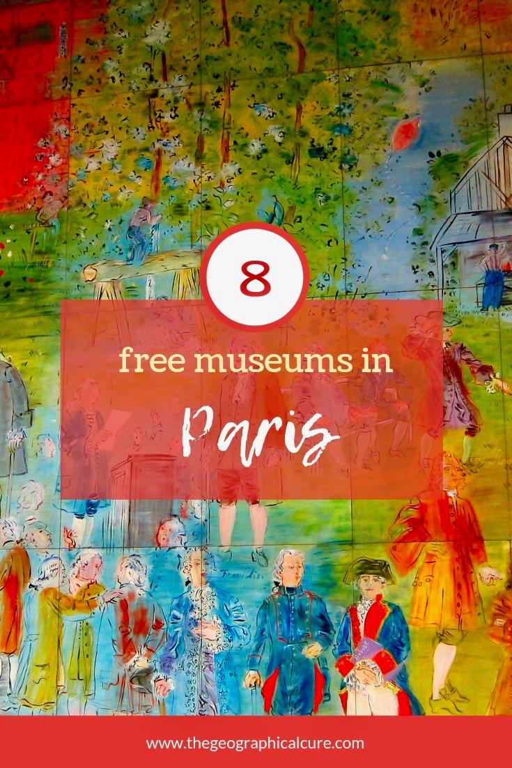 8 Free museums in Paris