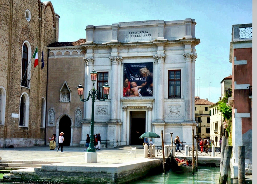 the Accademia Gallery, a must see site in Venice