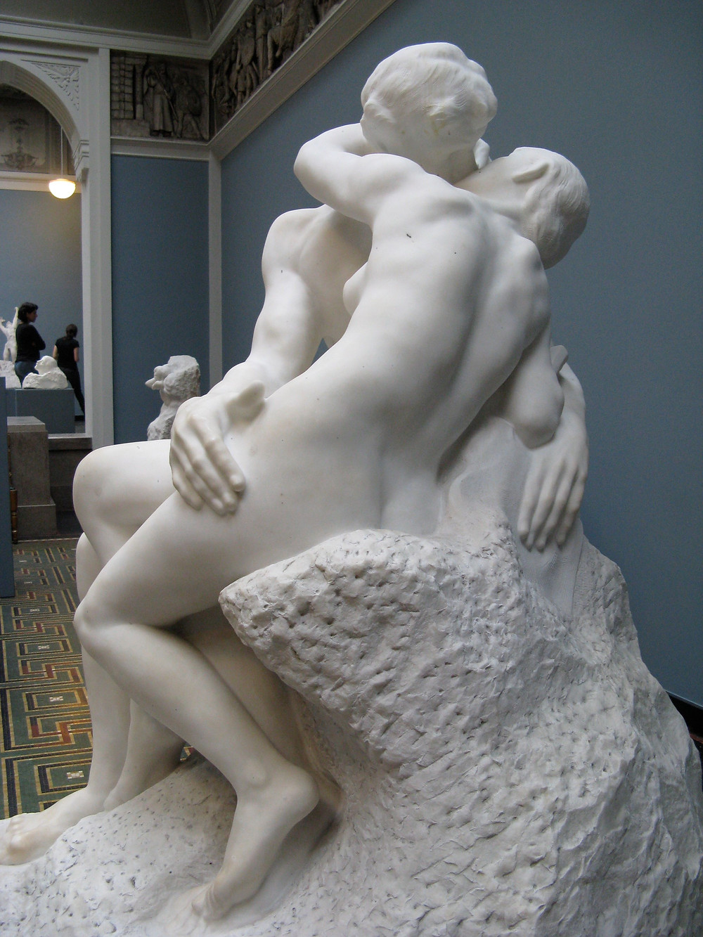 Auguste Rodin, The Kiss, 1882 -- at the Rodin Museum in Paris