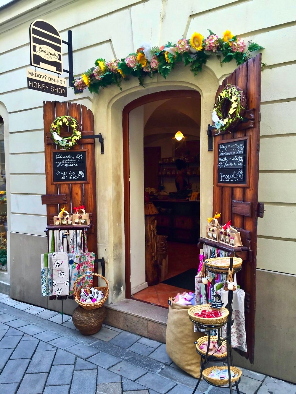 Medovy Obchod honey shop
