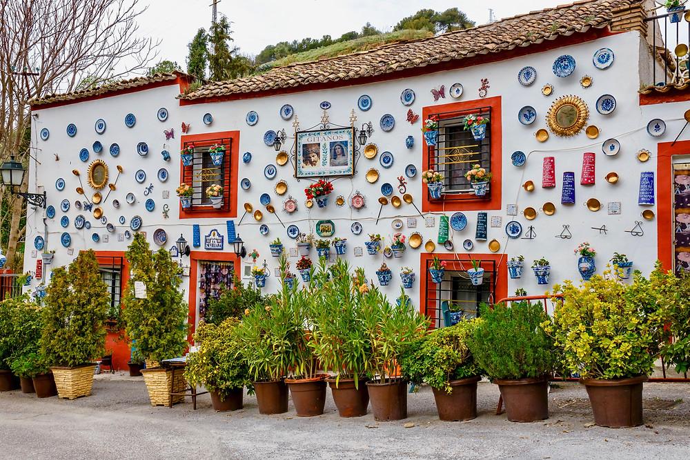 pretty house in the Albayzin