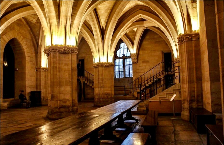 the Guards Room in the Conciergerie