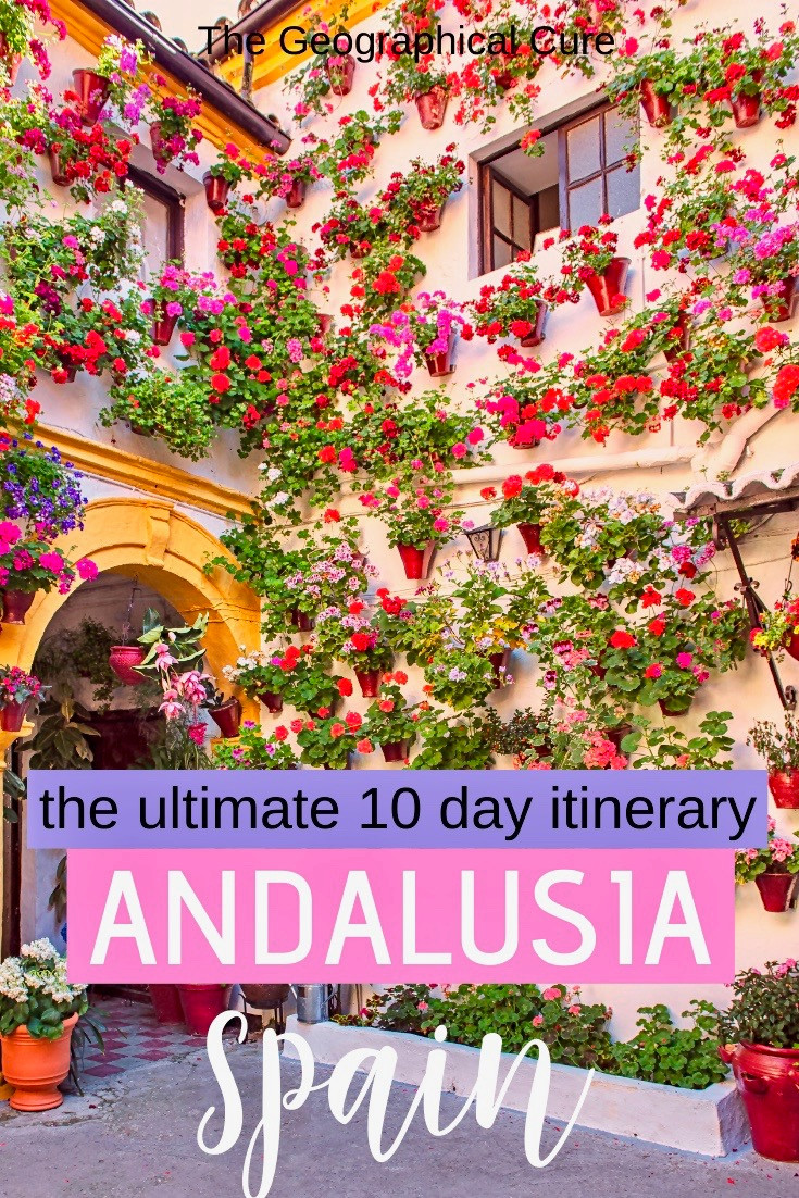 ultimate 10 day itinerary for Andalusia, southern Spain