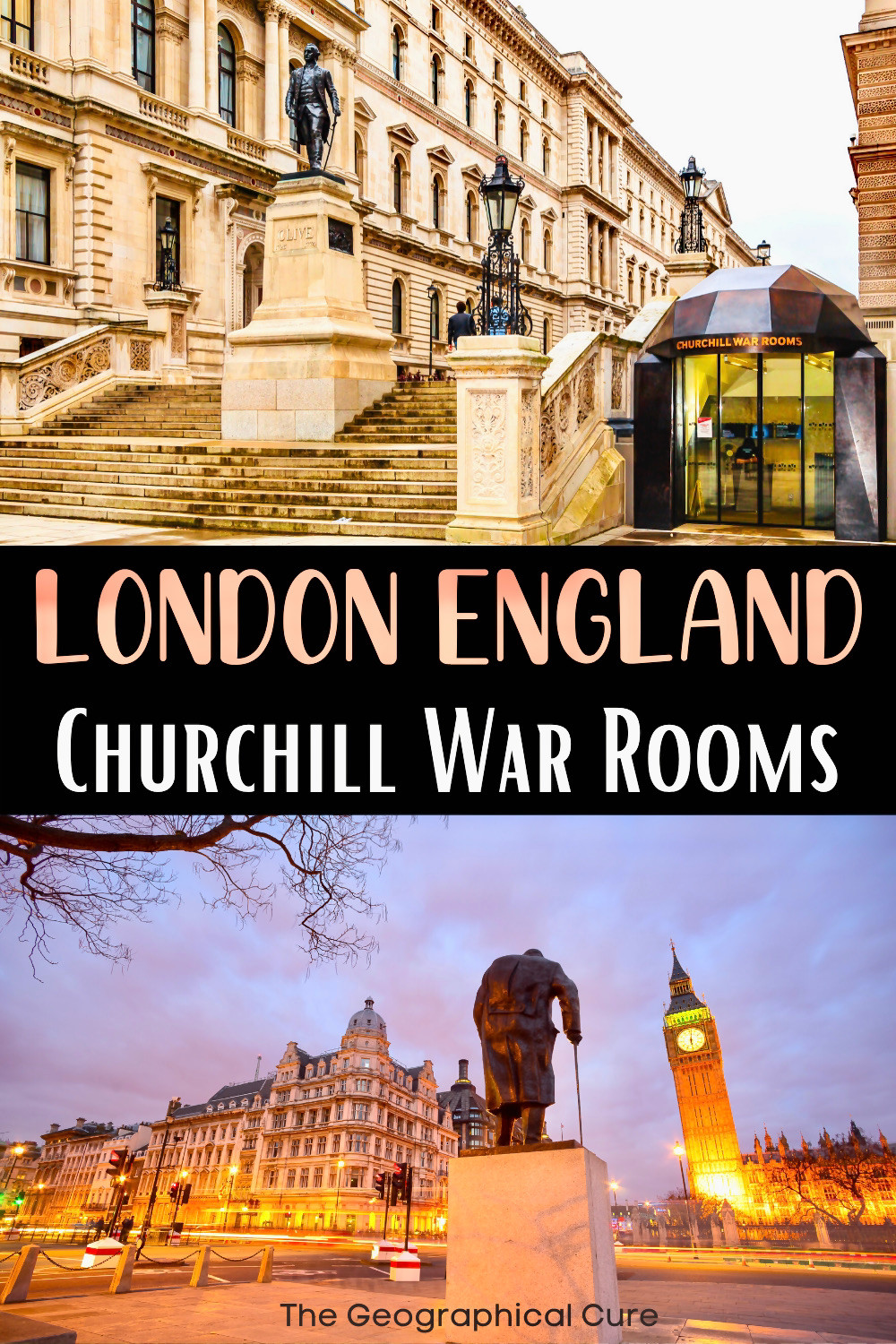 ultimate guide to the Churchill War Rooms, a must see museum in London England
