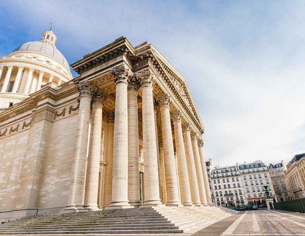 the Pantheon, a must see landmark in Paris' Latin Quarter