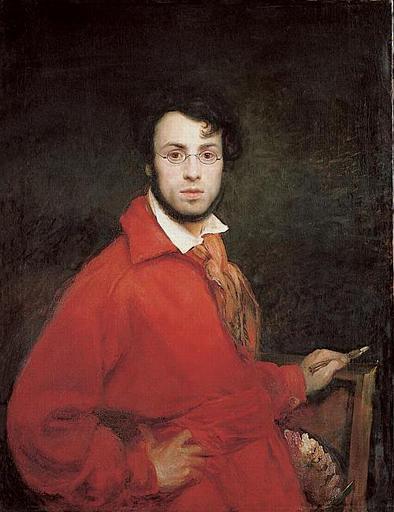 Ary Scheffer, Sel-Portrait