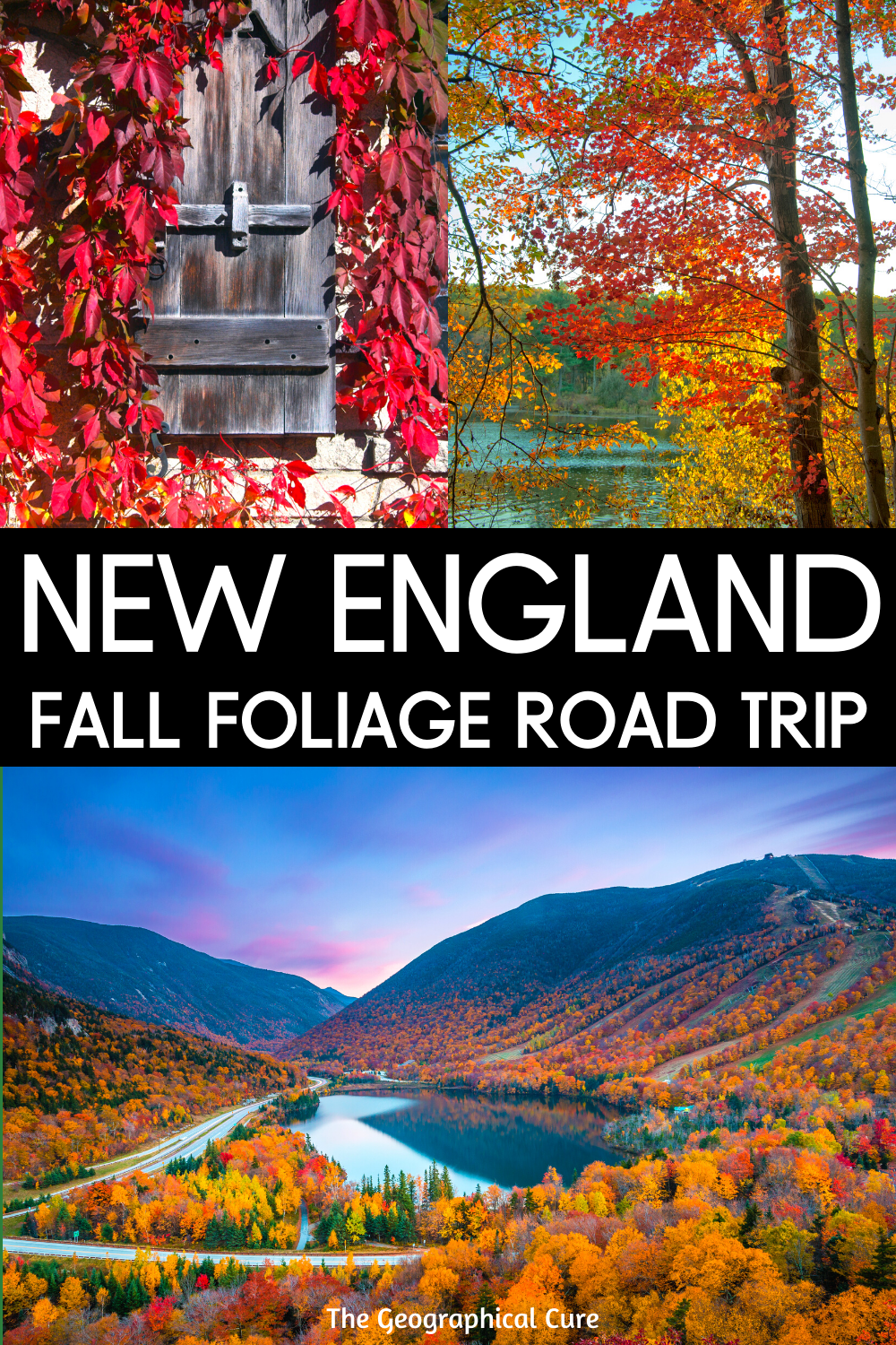 Perfect 1 Week Fall Foliage Road Trip in New England