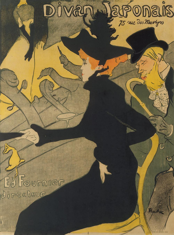 Toulouse-Lautrec, Divan Japonais, 1892