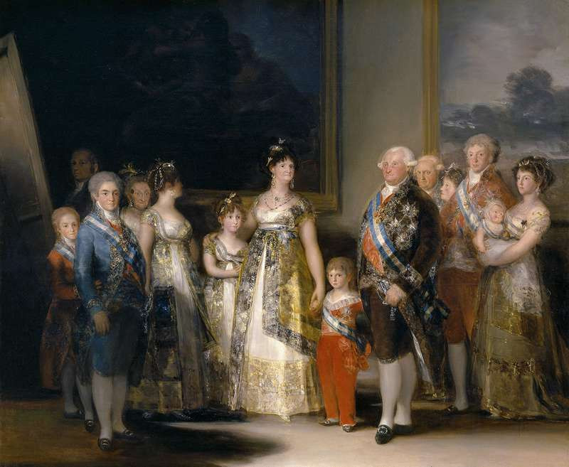 Francisco Goya, Family of Charles IV, 1800