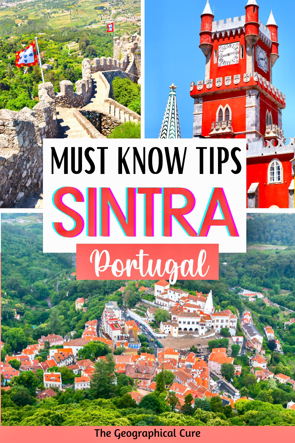 ultimate guide to Sintra Portugal: Must Know Tips and How To Avoid Mistakes in the must visit UNESCO town