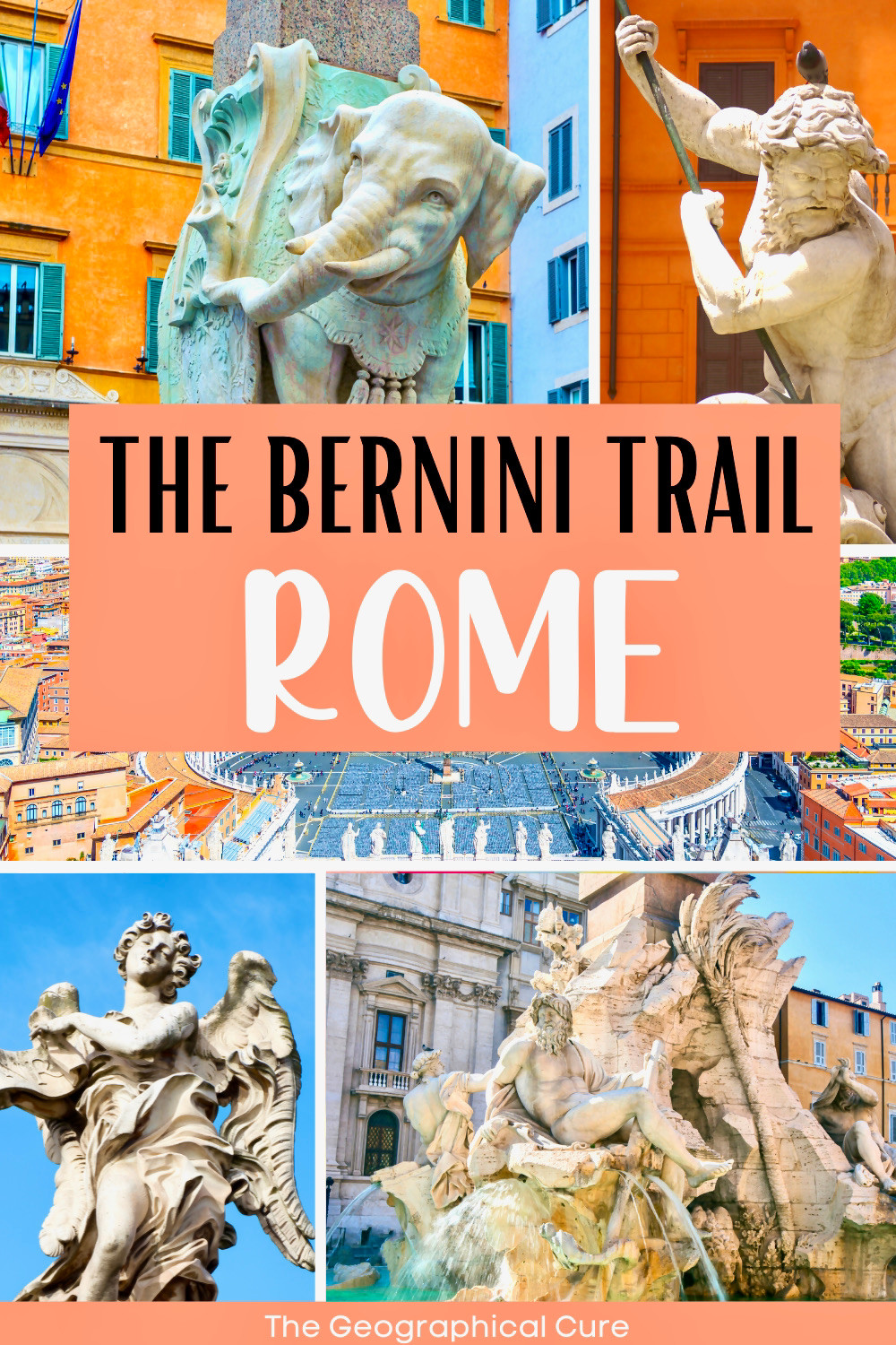 ultimate guide to finding Bernini's art and sculpture in Rome Italy