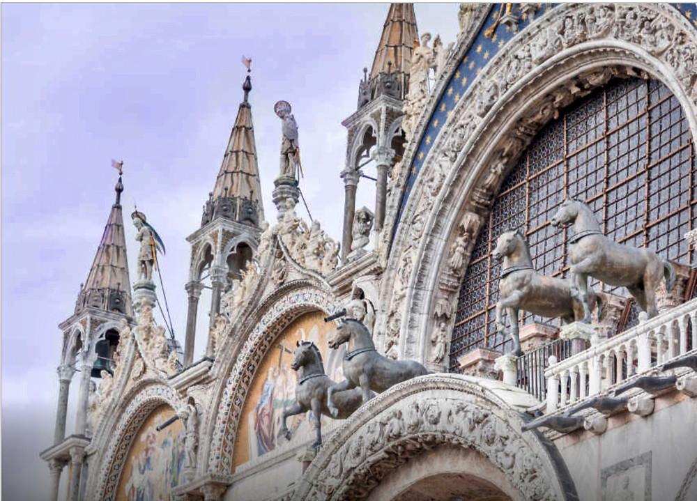 Loggia dei Cavalli of Venice's St. Mark's Basilica