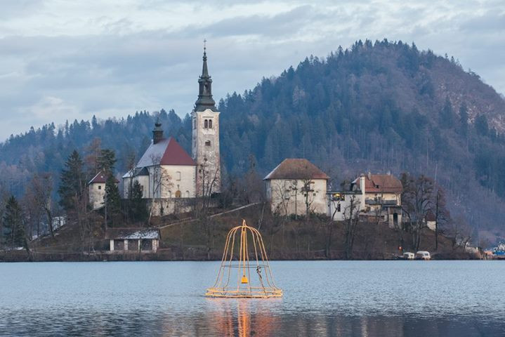 Bled Island and the mysterious sunken bell, image source: bledsi
