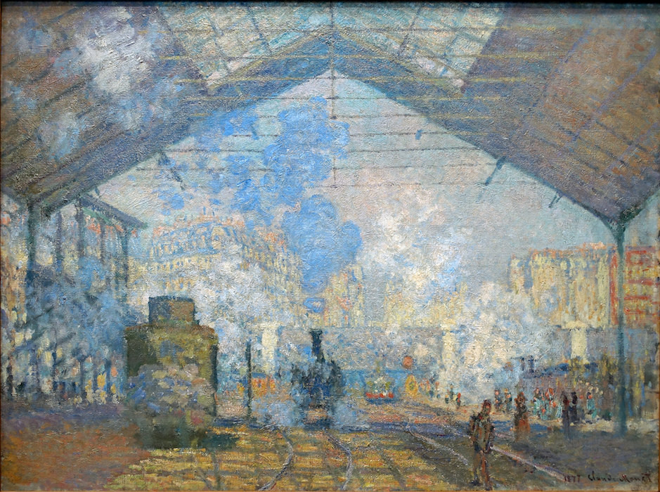 Claude Monet, The Gare Saint-Lazare, 1877