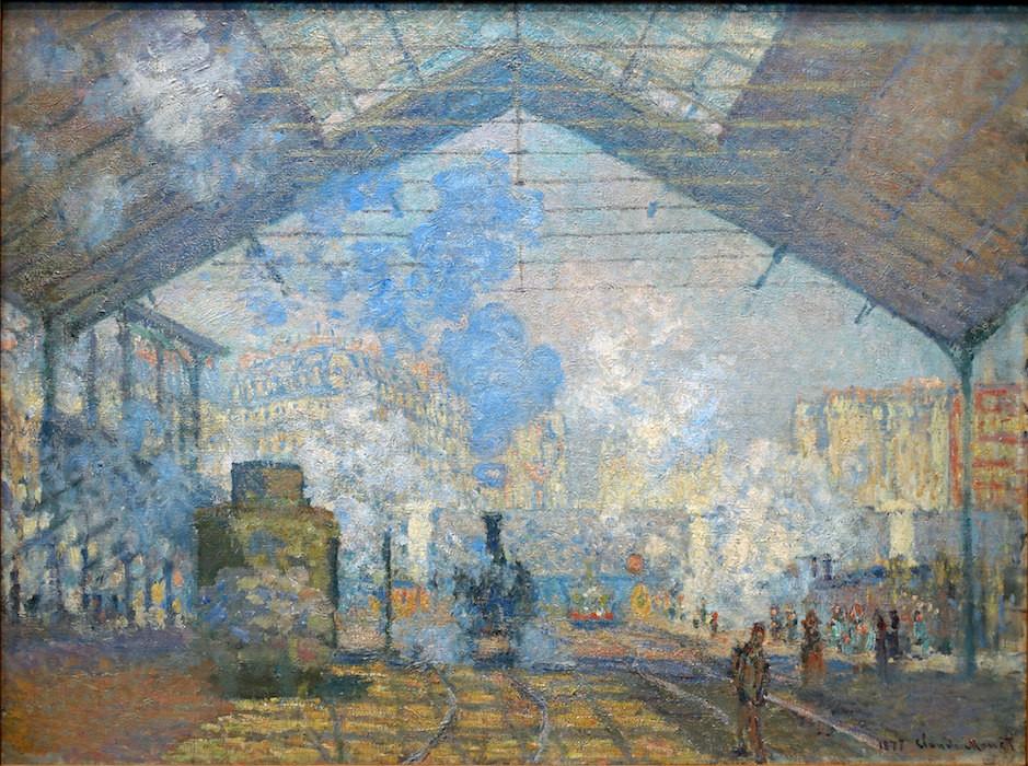Claude Monet, The Gare Saint-Lazare, 1877