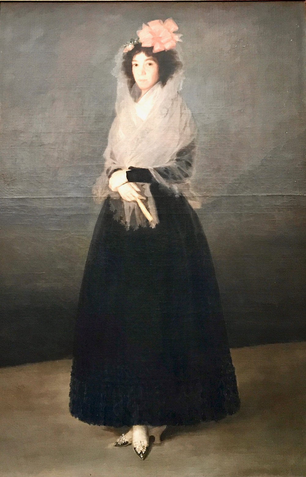 The Countess del Carpio by Goya at the Louvre
