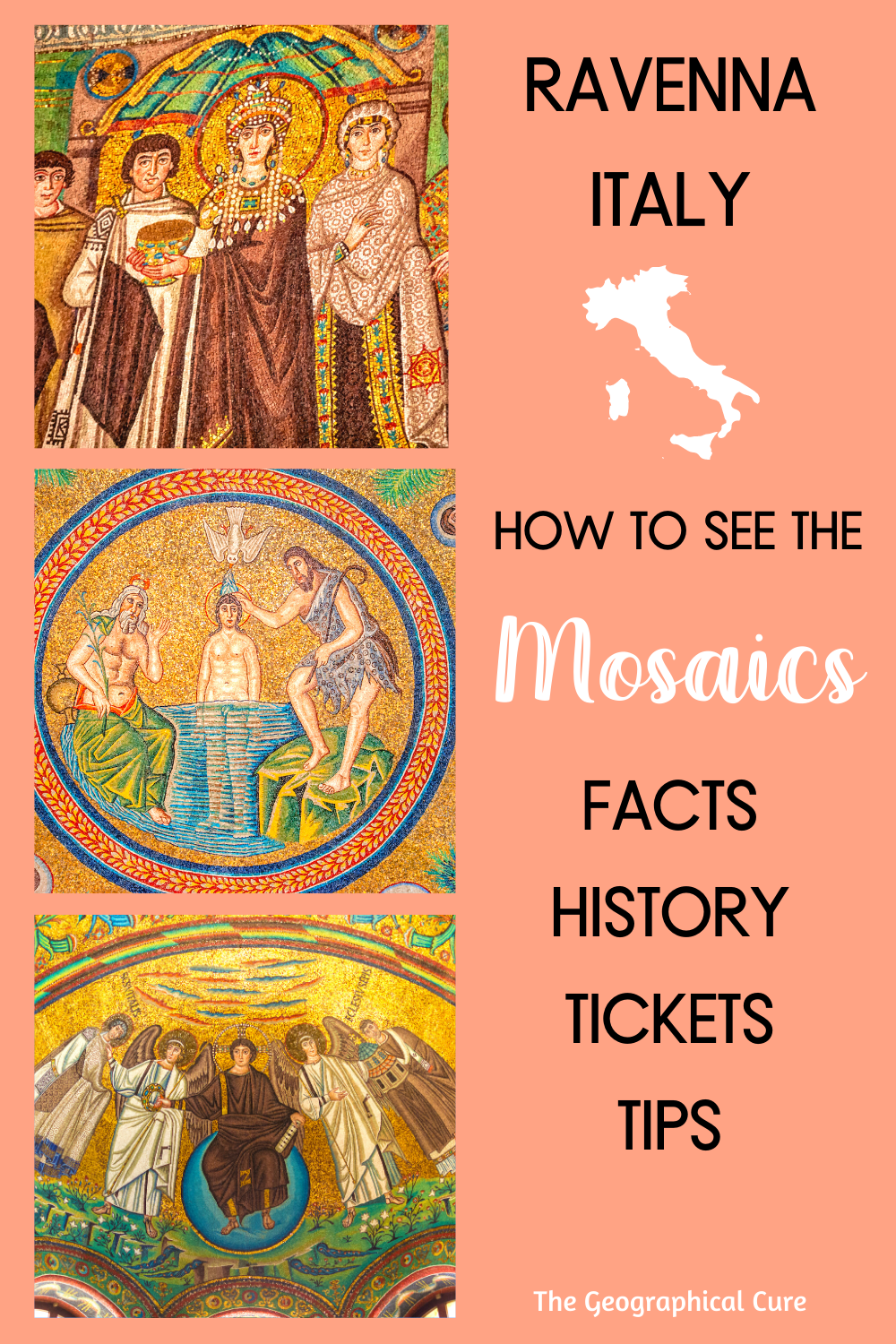How To See the Mosaics in Ravenna Italy, a Must See Town in Italy